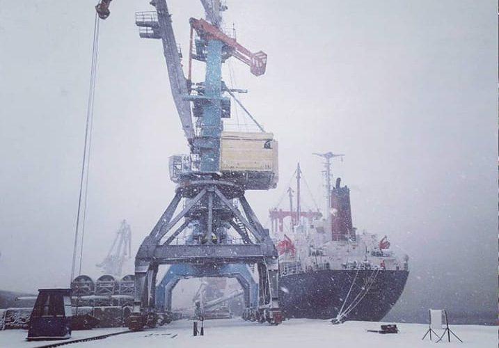 В порту Бердянськ завершили підготовку об'єктів інфраструктури до льодової навігації