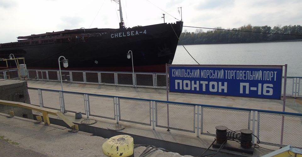 Рівень води в акваторії морського порту Ізмаїл пішов на підйом
