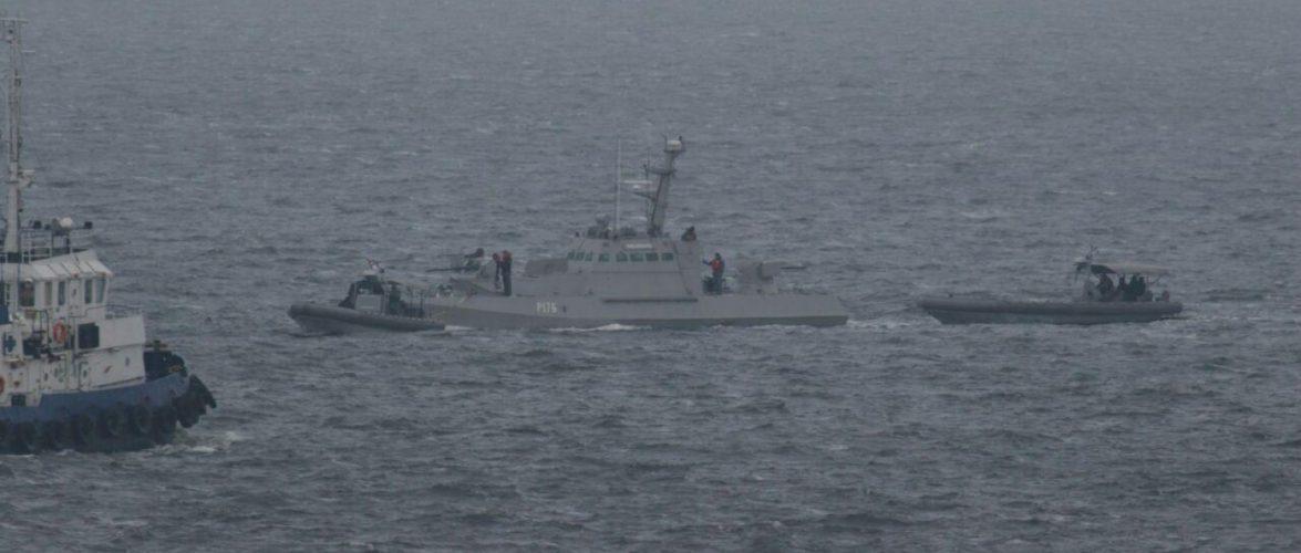 Арбітражний трибунал розділил на дві частину справу між Україною та РФ щодо затримання 3 військово-морських суден
