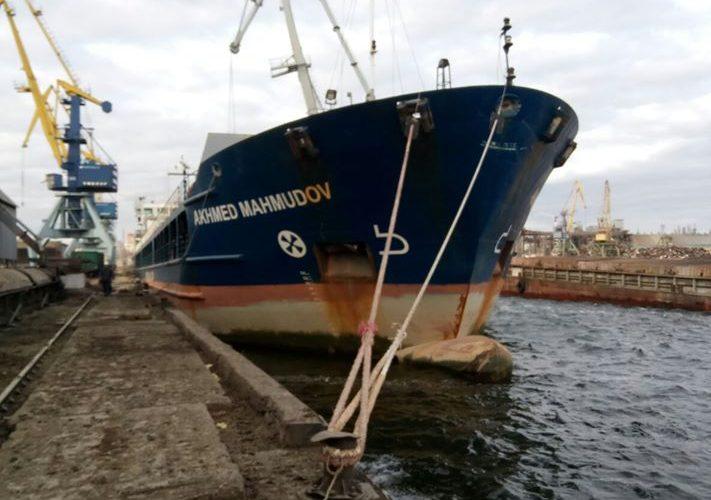 Миколаївський річковий порт розпочав перевалку шроту гранульованого фірми «Ерідон»