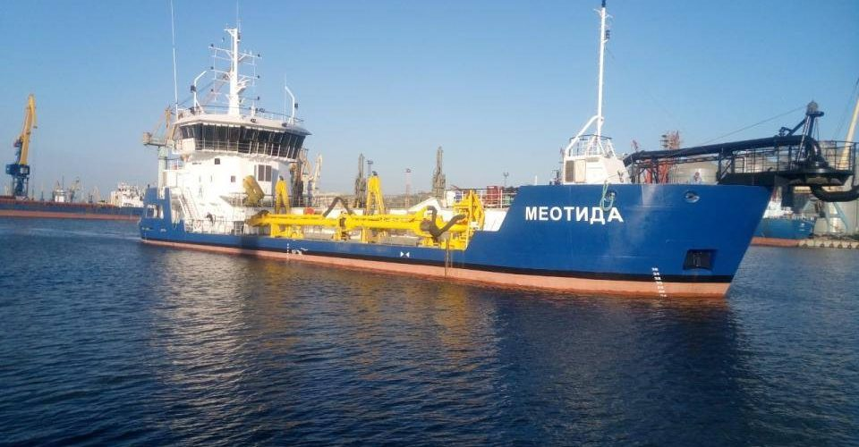 АМПУ вдруге в своїй історії досягла рекордного показника днопоглиблення у портах – понад 7 млн куб. м