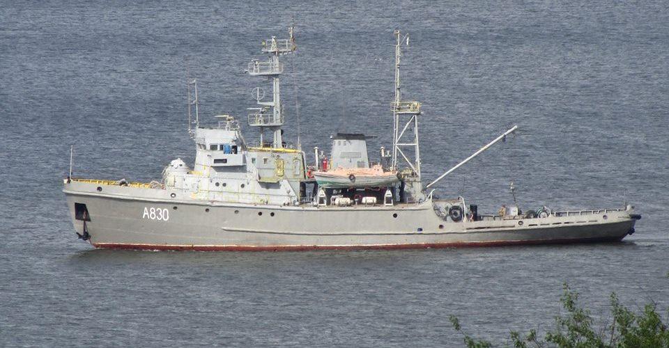"""Азовський судоремонтний завод відремонтує морський буксир """"Корць"""" для ВМС"""