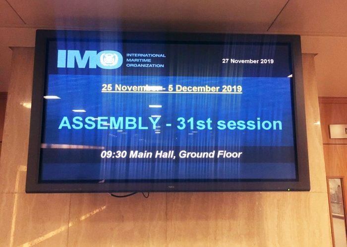 Українська делегація взяла участь у роботі 31-ї сесії Асамблеї ІМО