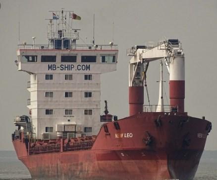 Врятовано 14 українських моряків з судна New Leo, яке подало сигнал SOS у Егейському морі
