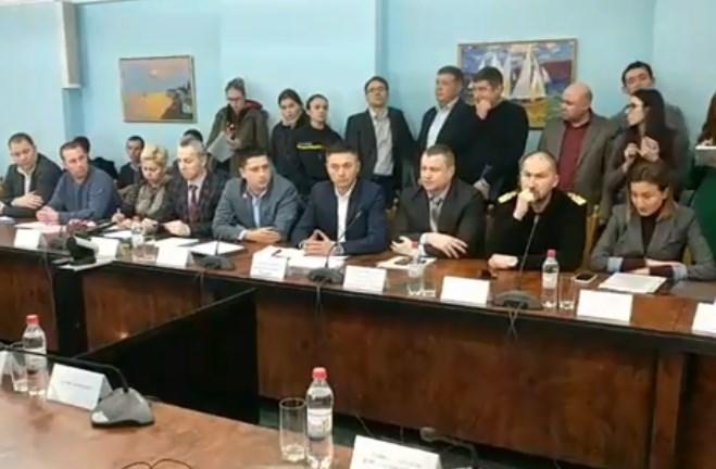 В Одесі пройшло засідання комісії з питань ліквідації наслідків аварії, пов'язаної з танкером «Делфі»