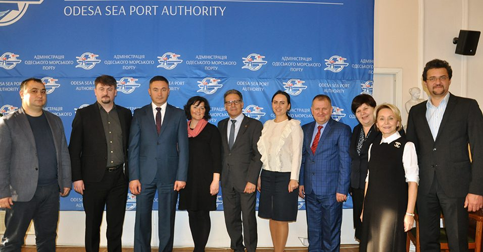 Одеський порт з ознайомлювальним візитом відвідала делегація європейських ділових кіл