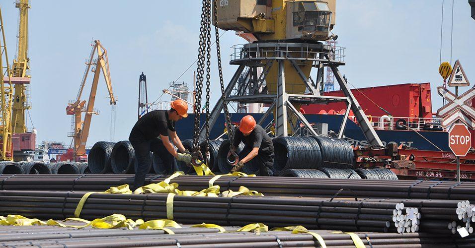 У 2019 році 4,6 млн тонн металопродукції перевантажено через причали порту Одеса