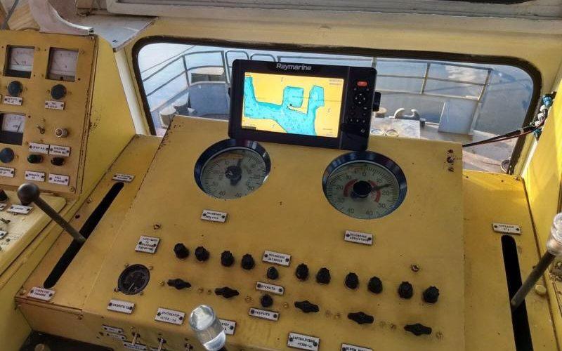 Держгідрографія придбала ехолоти/картплотери Raymarine Element 9S на річкові судна