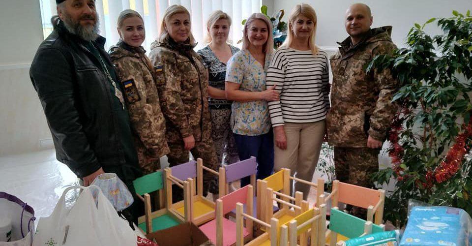 Морські піхотинці завітали до Миколаївського обласного  будинку дитини
