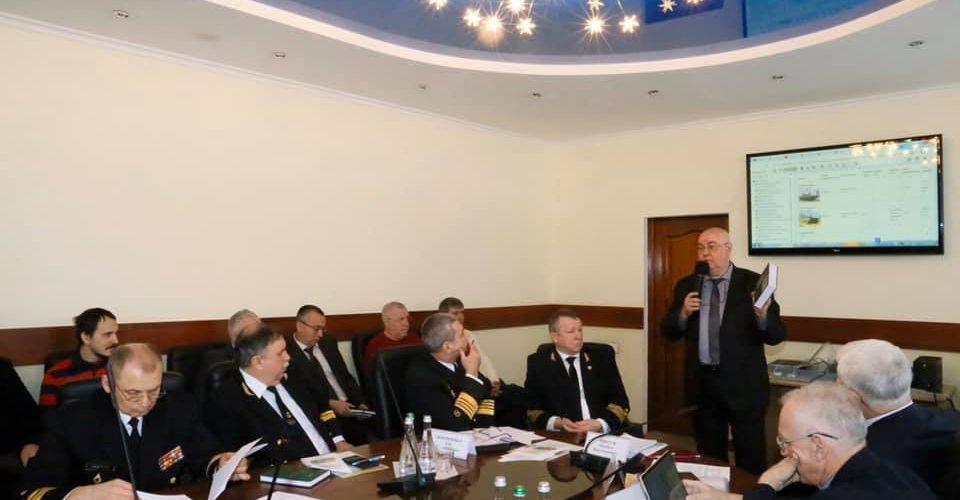Держгідрографія взяла участь у спільній нараді ВМС ЗСУ, Міносвіти та НАН України