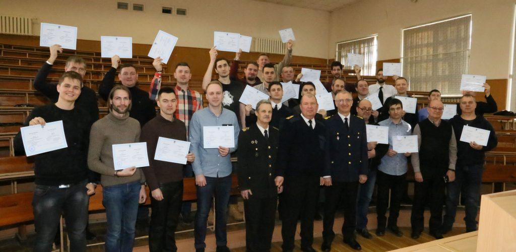 Відбувся випуск курсантів-заочників НУ «Одеська Морська Академія»