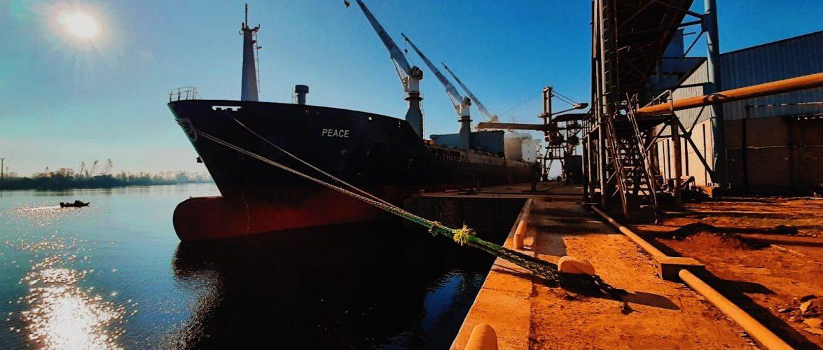З початку року морський порт Херсон відвідало 44 судна