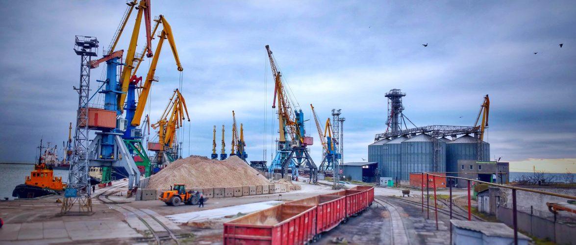 Морський порт Бердянськ збільшує прохідну осадку до 7,8 м