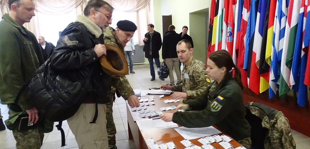 Прикордонники взяли учать у конференції «Rapid Trident-2020»