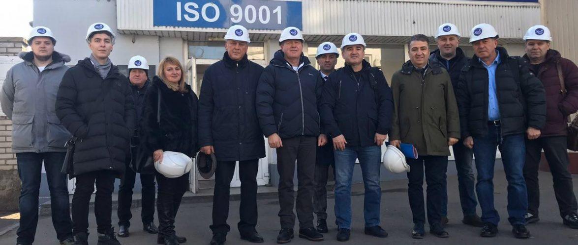 """ДП """"Херсонський морський торговельний порт"""" відвідали представники турецької компанії """"Dincercimento"""""""