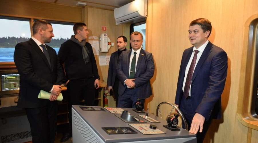 Завтра в Одеській області Дмитро Разумков відвідає «Контейнерний термінал Одеса»