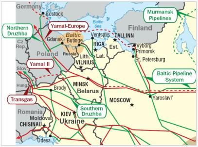 Білорусь в березні почне імпорт нафти по трубопроводу Одеса-Броди