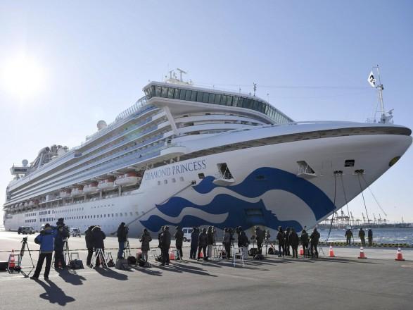 Україна запропонувала евакуацію українським морякам, яких помістили в карантин на лайнері Diamond Princess