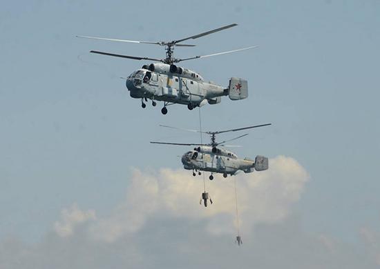 Російська морська авіація провела навчання на Чорному морі