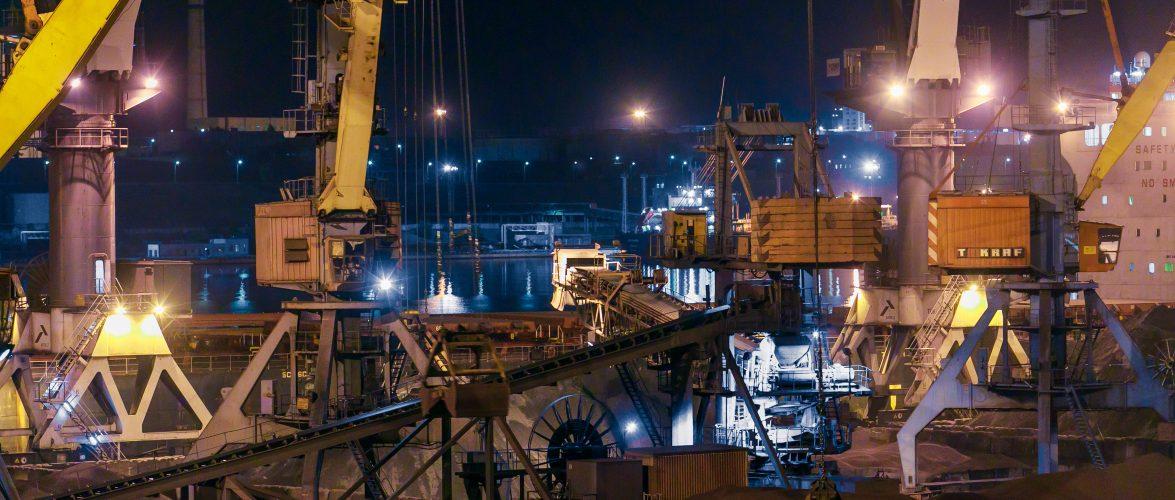 В порту «Южний» планують побудувати новий комплекс вагоноперекидача