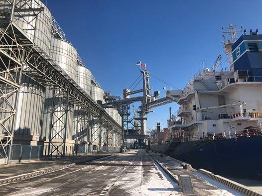 Вантажоперевалка Миколаївського порту у січні зросла на 12,8 відсотків