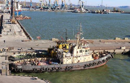 Після капітальних ремонтів до роботи в Маріупольському порту приступили буксири «Портовик» та «Олександр Яковенко»