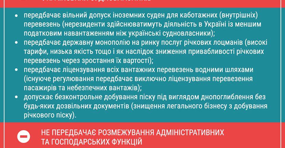 """Асоціація """"Річки України"""" не підтримує законопроект № 1182-1-д """"Про внутрішній водний транспорт"""""""