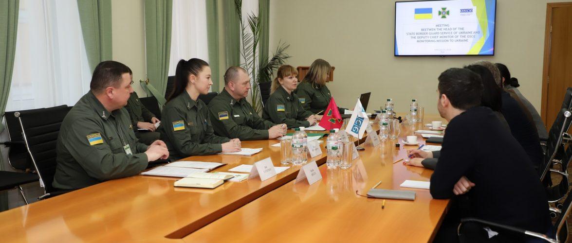 В Адміністрації Держприкордонслужби відбулася зустріч з представниками Спеціальної моніторингової місії ОБСЄ в Україні