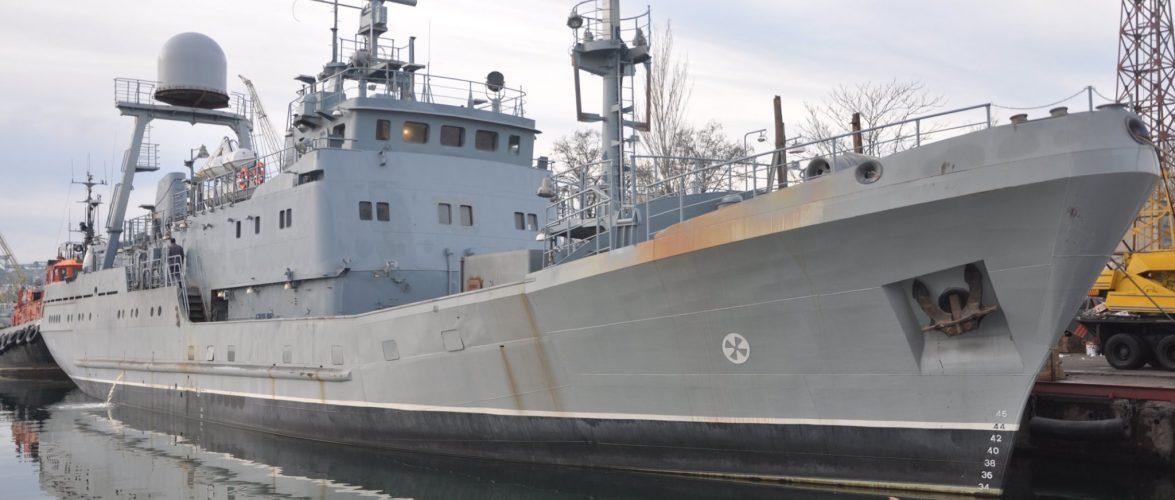 Середній розвідувальний корабель «Лагуна» вперше вийшов в море