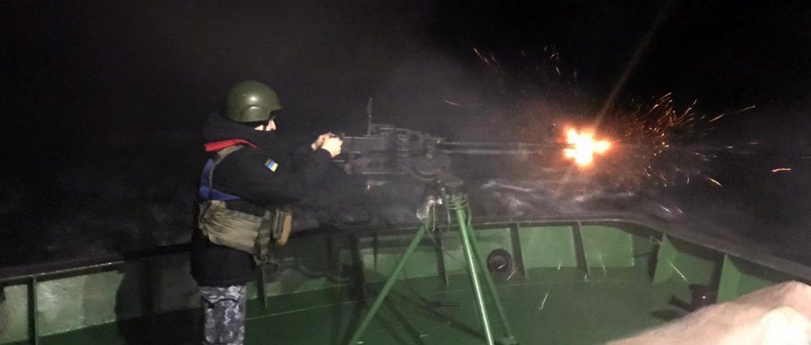 Прикордонники спільно з ВМС відпрацювали спільний вихід в Азовське море та навчальні артилерійські стрільби