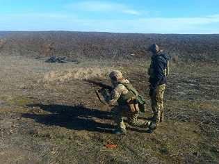 У протидиверсійному загоні Військово-Морських Сил ЗС України триває процес бойової підготовки