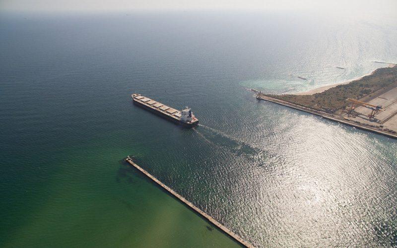 У лютому вантажообіг морського порту Чорноморськ склав2 млн 244 тис. тонн