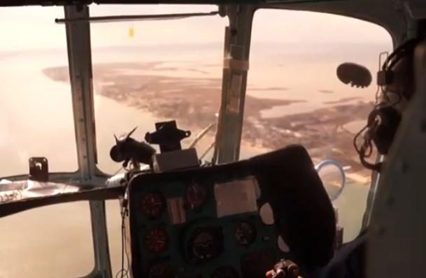 (ВІДЕО) Рятувальники ДСНС обстежили 900 кв. км в акваторії Азовського моря в пошуках зниклих рибалок
