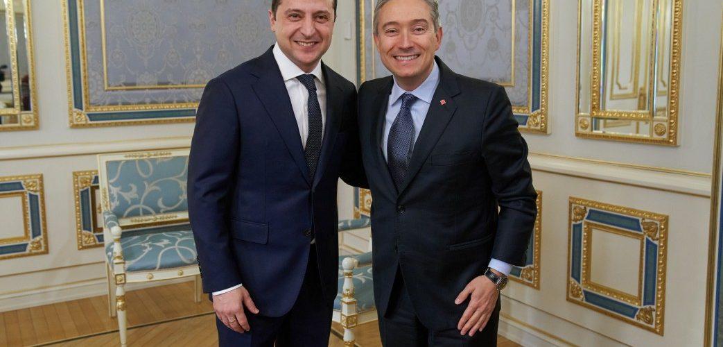 Президент України розповів міністру закордонних справ Канади про концесійні проекти