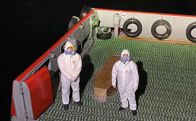 Капітан китайського балкера помер від коронавірусу, судно пройде карантин в порту Миколаєва, – мер Сенкевич
