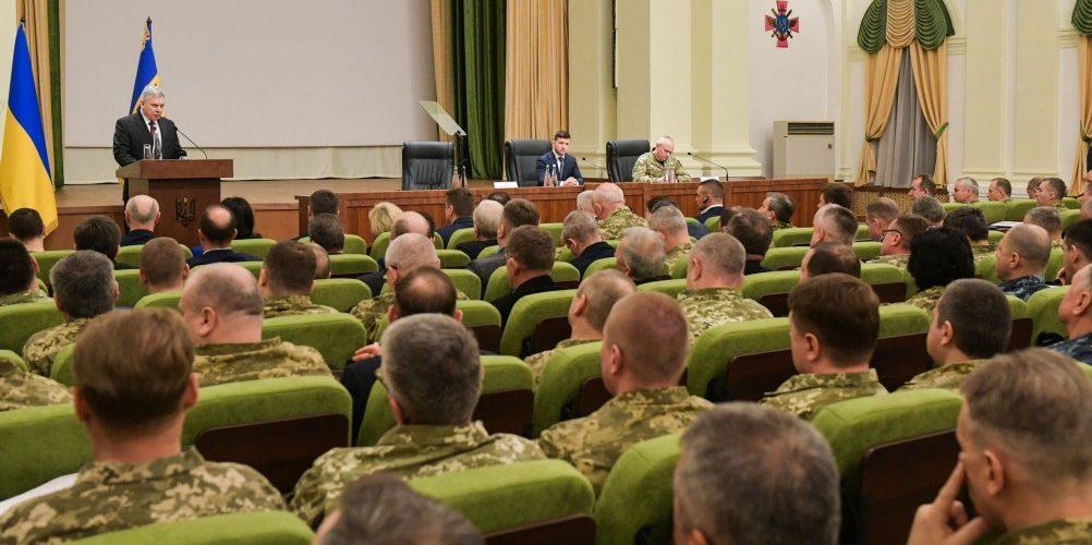 Президент Українипредставив нового керівника Міністерства оборони України – Андрія Тарана