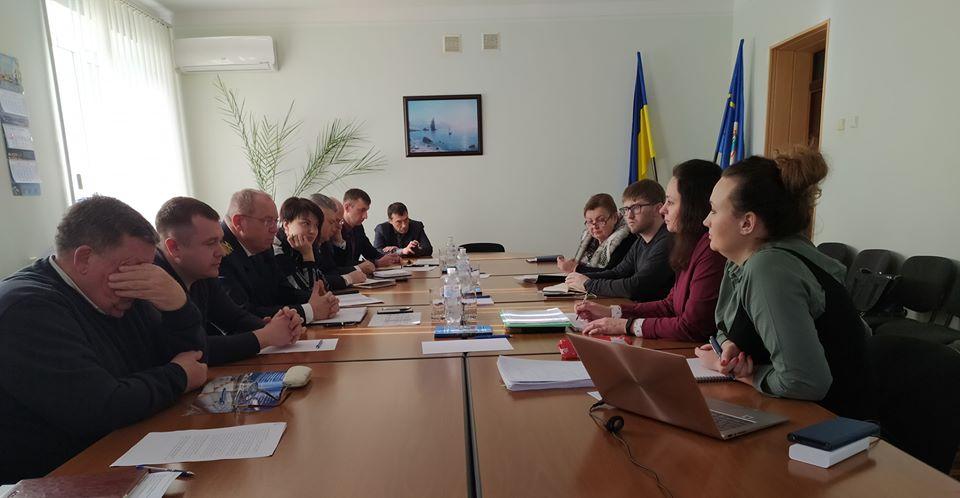 В порту Бердянськ стартувала дводенна місія експертів інжинірингової групи «Egis»