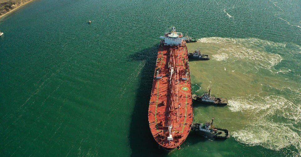 Нафтовий термінал «Південний» прийняв другий танкер з нафтою для Білорусі