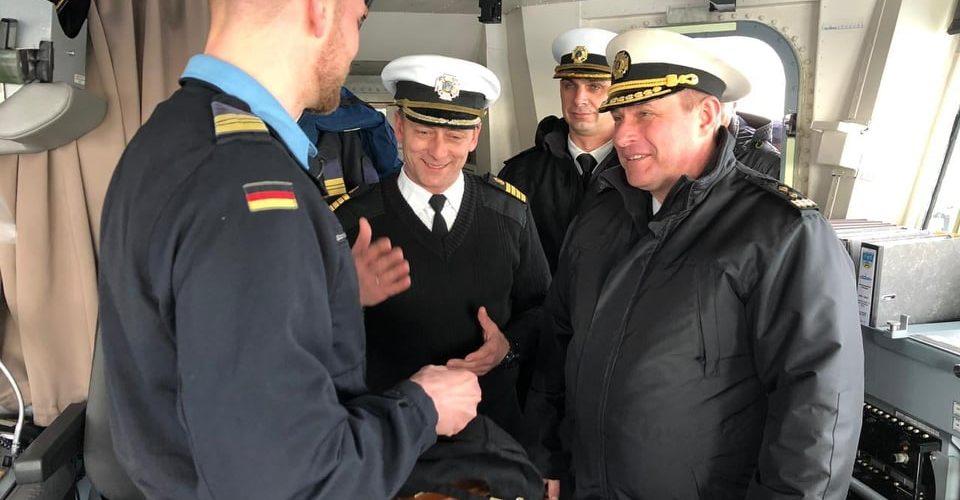 Представники ВМС відвідали з робочим візитом колег з ВМС Бундесверу ФРН