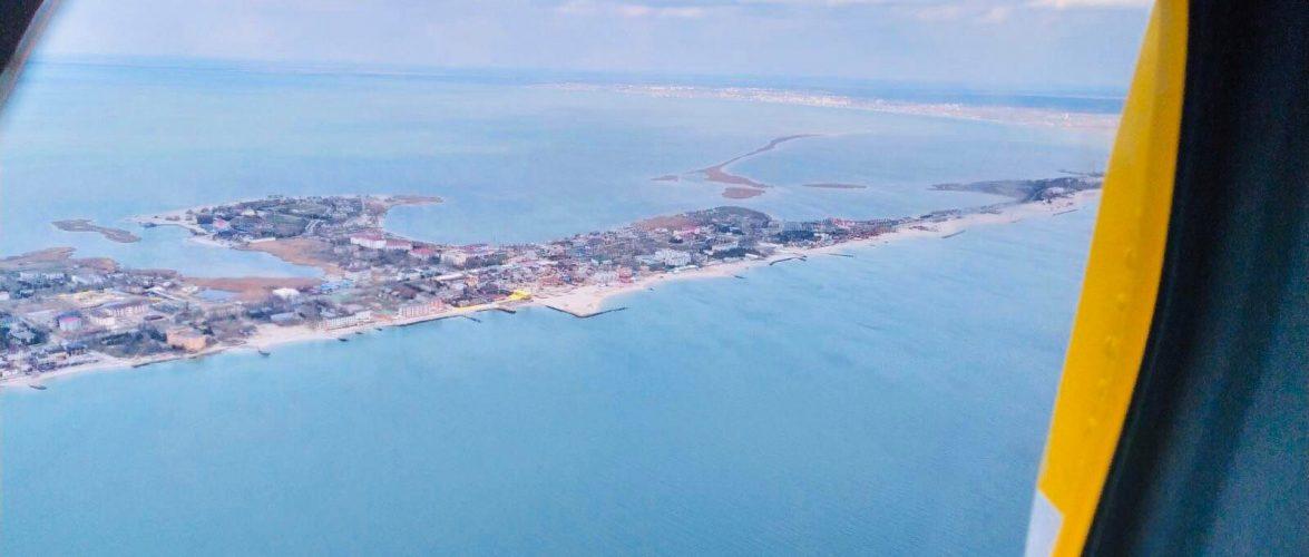Перебіг пошуково-рятувальних робіт в акваторії Азовського моря станом на 15:00