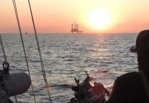 (ВІДЕО) Морська охорона ДПСУ продовжує фіксувати факти здійснення незаконної діяльності РФ у виключній (морській) економічній зоні України
