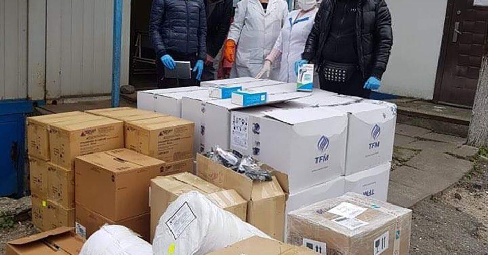 Одеський порт та стивідори допомагають в боротьбі з коронавірусом