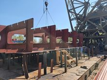 «Дунайсудносервіс» спільно з «Дунайсудоремонт» приступили до будівництва найбільшої баржи в Україні