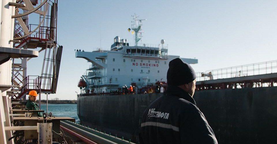 «Укртранснафта» прийняла на Морському нафтовому терміналі «Південний» четвертий танкер з нафтою для Білорусі