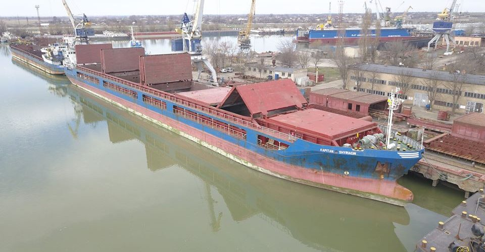 """ПрАТ """"Дунайсудоремонт"""" завершило плановий ремонт судна """"Капітан Ширягін"""""""