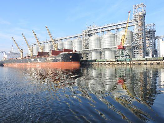 Стивідорні компанії Миколаївського порту за квартал перевалили 7,807 млн тонн
