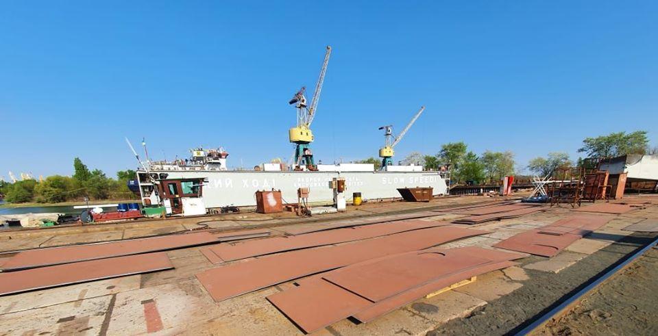 """СП """"Дунайсудосервис"""" побудує баржу """"GRAIN-5"""" вантажопідйомністю 2300 тонн для ТОВ «Грейн-трансшипмент»"""