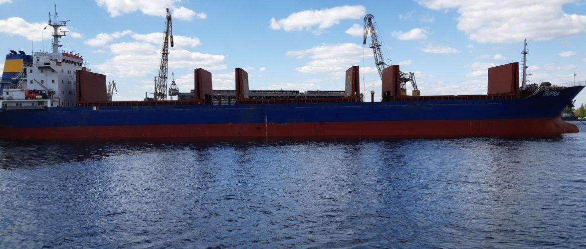 Портовими операторами в акваторії порту Херсон в квітні було оброблено 234,14 тис. тонн вантажів