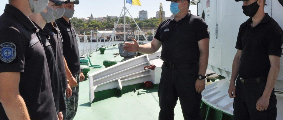 Майбутні офіцери-прикордонники вперше стажуються в Одеському загоні морської охорони