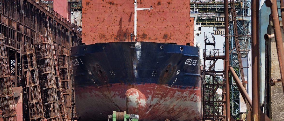 Херсонська верф Smart Maritime Group проводить глибоку модернізацію суховантажу «Gelius 1»